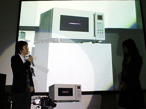 CastOvenのプレゼンを行う100kw-sgss(Watanabe Keita)氏