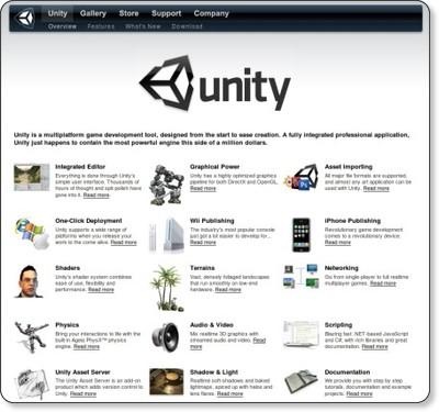 http://unity3d.com/unity/