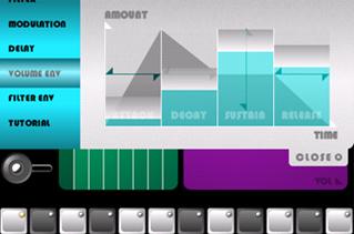ユニークな楽器アプリ、「SynthProbe」。独特なUIが必要な場合は、設定画面も含めフルスクリーンで隅々までデザインしよう