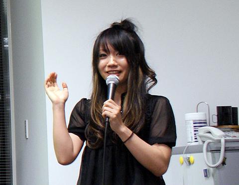 カヤックの林真由美さん。特別賞コレクタになりつつあるが、「次は優勝したい」とのこと