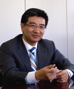 日本通信代表取締役専務兼COO 福田尚久氏