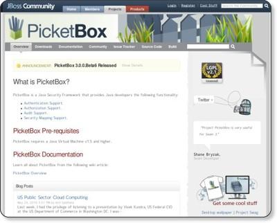 PicketBox - JBoss Community via kwout