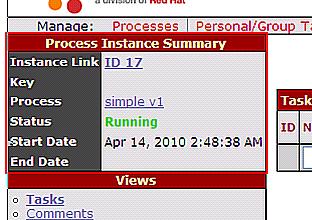 図19 「Start」リンク押下後の画面