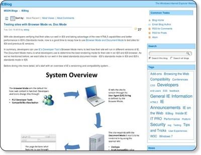 IEBlog - Site Home - MSDN Blogs