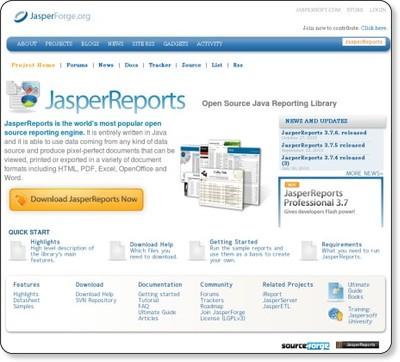 jasperreports : JasperForge