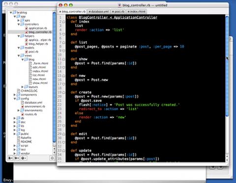 Ruby on Railsがデビューしたときのスクリーンキャストは今でも見ることができる