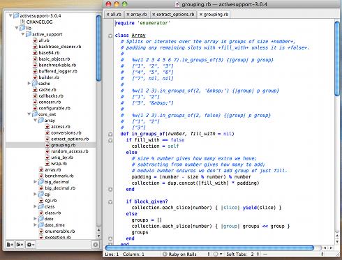 gem open activesupportなどとすれば、指定したテキストエディタでソースコードを開ける