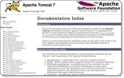 http://tomcat.apache.org/tomcat-7.0-doc/index.html