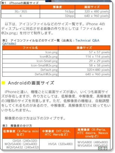 スマートフォンアプリデザインに役立つ基礎のまとめ!(3/4)- @IT