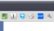 画面4 Chrome上のExif Viewerのボタン
