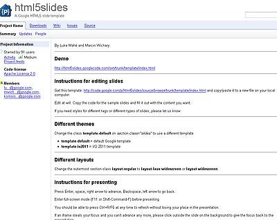 html5slides