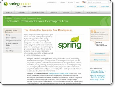Enterprise Java Development Tools | SpringSource