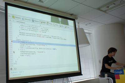 グーグル株式会社の北村氏による、Chrome Developer Toolsに関するセッション
