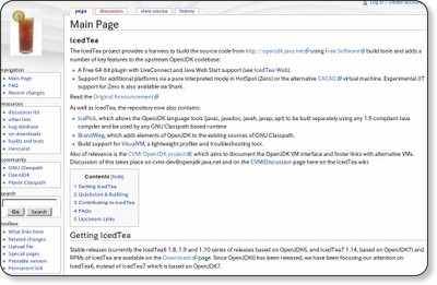 http://icedtea.classpath.org/wiki/Main_Page