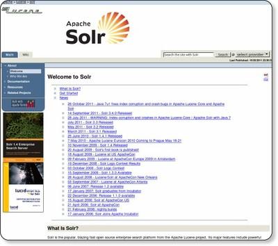 検索エンジンの常識をApache Sol...