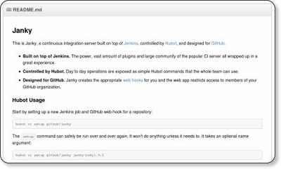 github/janky - GitHub
