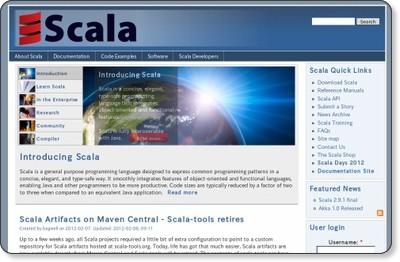 The Scala Programming Language via kwout