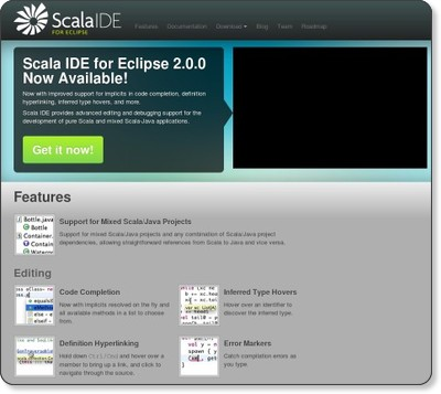 Scala IDE for Eclipse via kwout