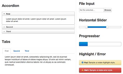 jQuery UI Bootstrap