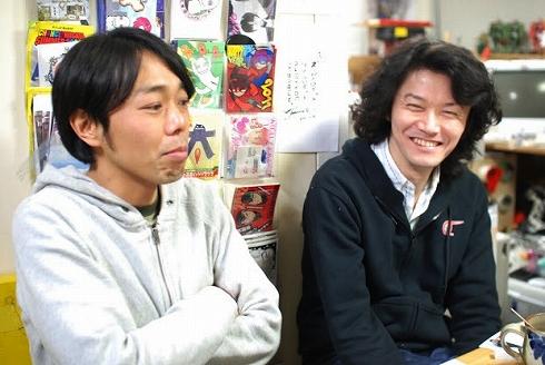 左:武笠太郎さん(ぼけ) 右:坂本嘉種さん(つっこみ)