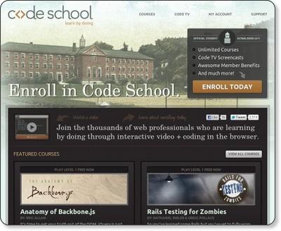 Learn by Doing - Code School