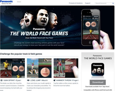 THE WORLD FACE GAMES�����Љ�y�[�W���