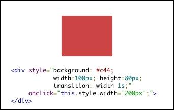 JavaScriptとトランジション