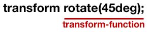 transformの書式
