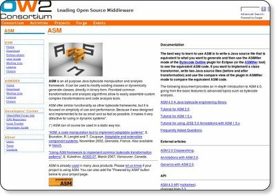 ASM - Home Page via kwout