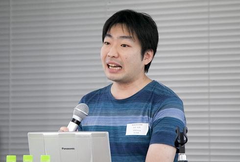 ディー・エヌ・エーソフトウェアソリューション部の紀平氏