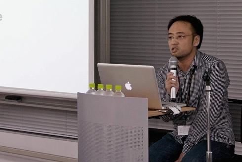 Webメディアの立ち上げ方についても語ったタチゾノマサヒコ氏