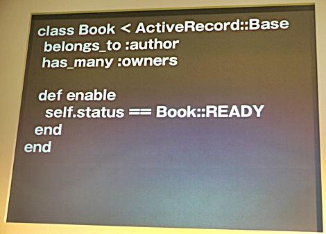 Active Recordの記述例