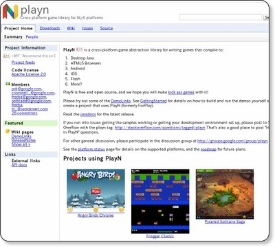 playn - Cross platform game library for N≧5 platforms - Google Project Hosting
