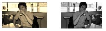 セピア、白黒、横反転のサンプル