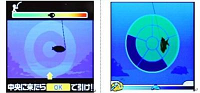左:原告グリーの画面、右:被告DeNAの画面