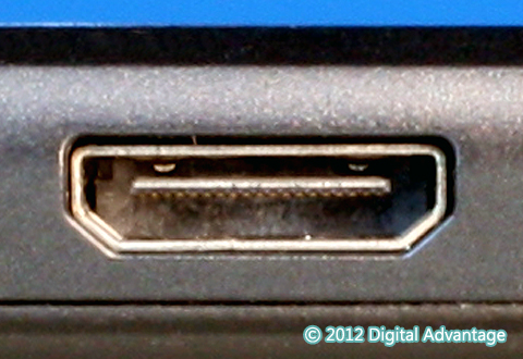 機器に搭載されているHDMI Mini Type Cコネクタ