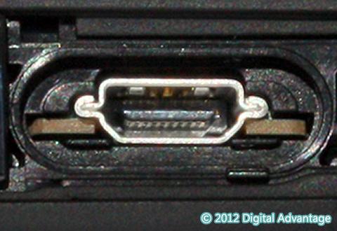 機器に搭載されているHDMI Micro Type Dコネクタ
