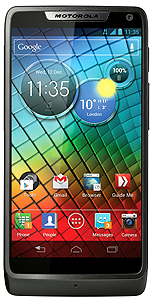 Motorola Mobilityが発表したAndroidスマートフォン「Motorola RAZR i」