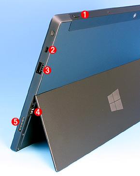 Surface RTの左側面