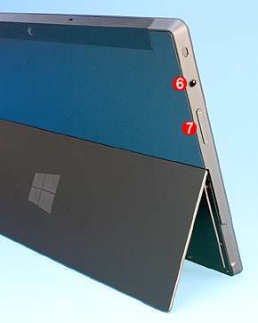 Surface RTの右側面