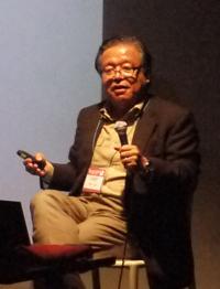 「日本のインターネットの父」とも呼ばれる慶應義塾大学環境情報学部長の村井純教授