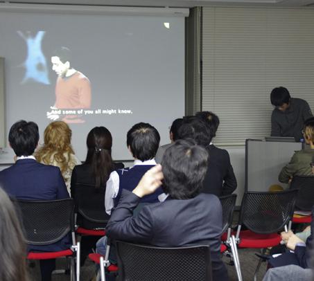 TED Talkを視聴している様子1