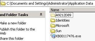 作成されたファイル その1