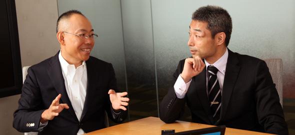 岡本氏と新野氏写真