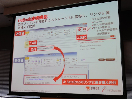 Outlook連携
