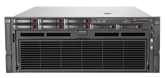 HP ProLiant DL580 G7(4Uサイズ)