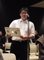 (画像)JANOG33で発言する参加者1