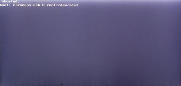 VAIO type PでChromium OSを起動する