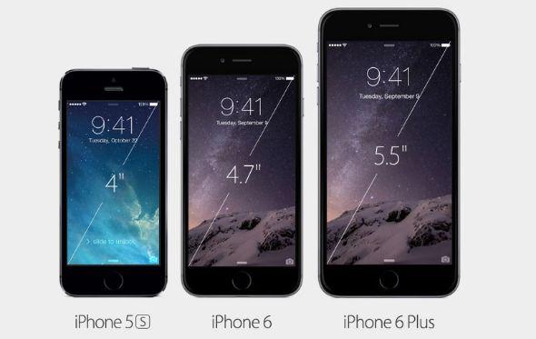 iPhone 6 Plusはほぼ1万円札のサイズ