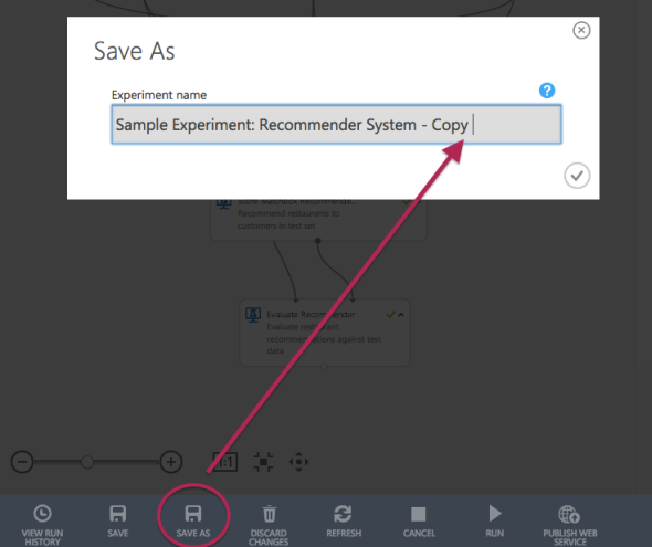 「SAVE AS」をクリックして複製を用意する